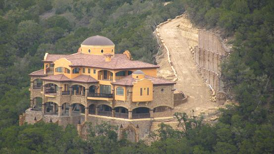 House built on rock gallery for Cost to build a house in little rock